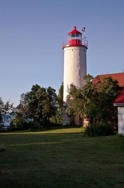 Jacobsville Lighthouse on The Keweenaw Peninsula of...