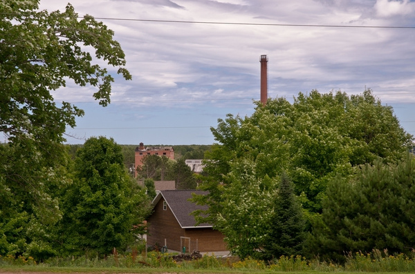 Henry Ford Lumber Mills located in the Upper Peninsula...