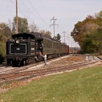 Little River Railroad Steam Train out of Coldwater, Michigan
