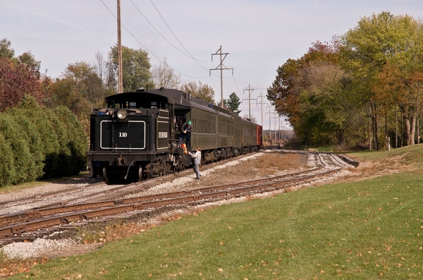 Little River Railroad Steam Train out of Coldwater,...