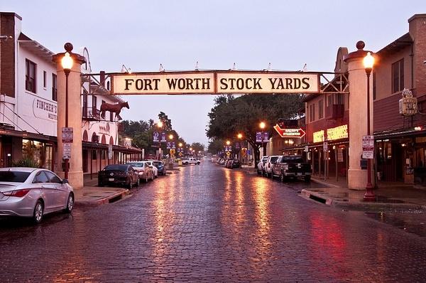 Fort Worth, Texas - Stock Yards by SDNowakowski