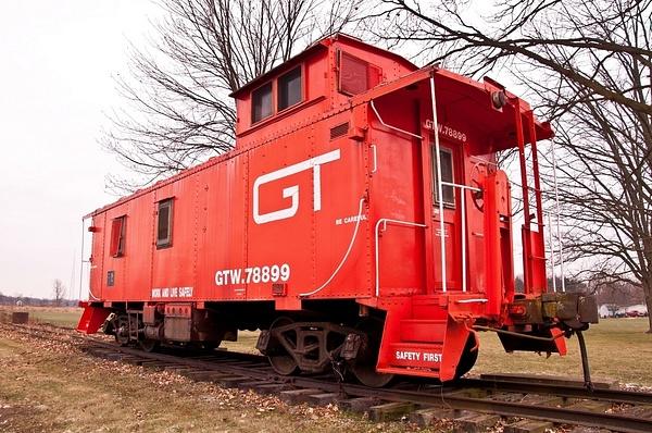 Capac Railroad Depot & Historical Museum by SDNowakowski