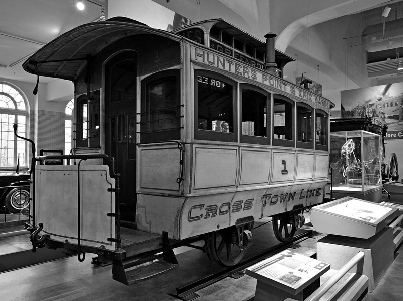 Henry Ford Museum - Horse Drawn Rail Coach-2013-Fastone