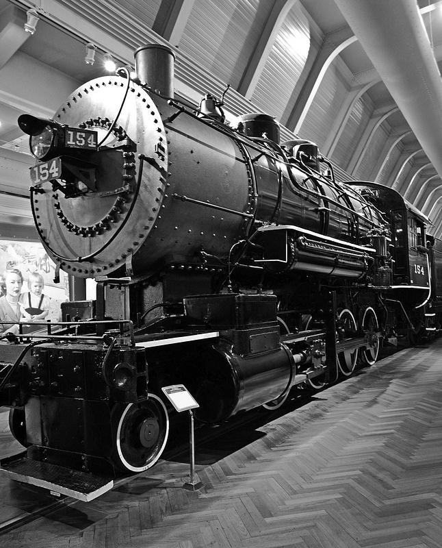 Henry Ford Museum-BL&E 2-8-0 #154 Steam Locomotive-2013-Fastone-3