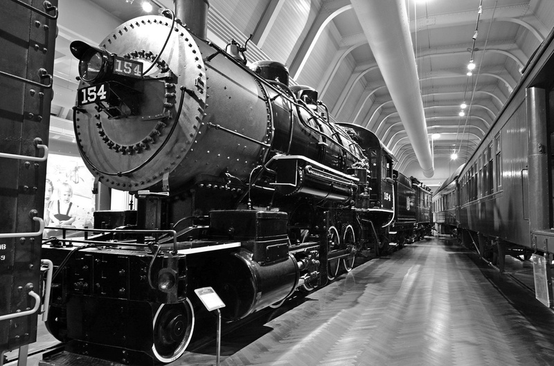 Henry Ford Museum-BL&E 2-8-0 #154 Steam Locomotive-2013-Fastone-5