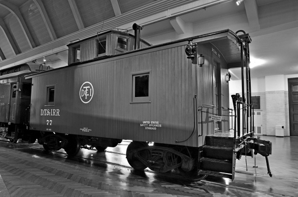 Henry Ford Museum-DT&I #77 Caboose-2013-fastone-2 by...
