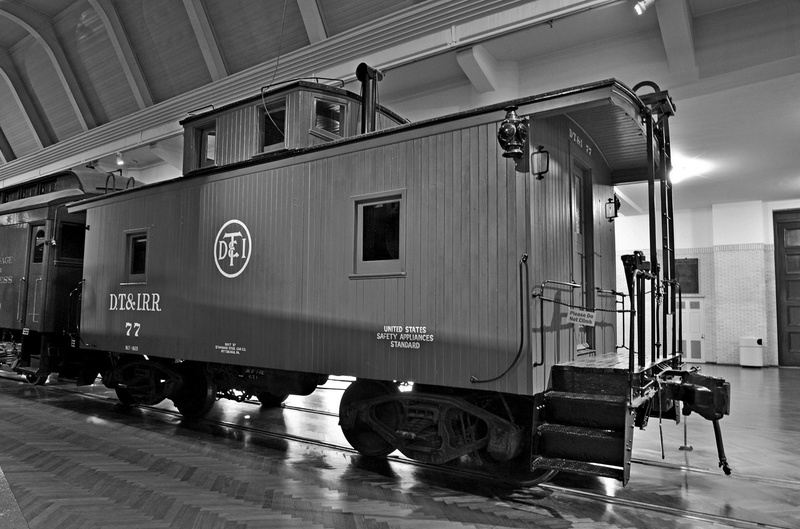 Henry Ford Museum-DT&I #77 Caboose-2013-fastone-2