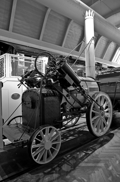 Henry Ford Museum-Early Steam Locomotive-2013-fastone by...