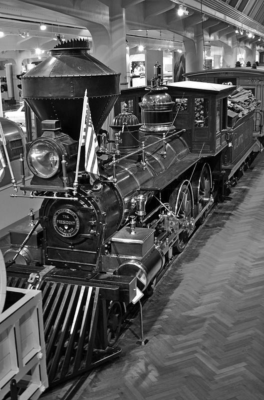 Henry Ford Museum-Sam Hill Steam Locomotive-2013-fastone