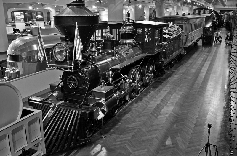 Henry Ford Museum-Sam Hill Steam Locomotive-2013-Fastone-3