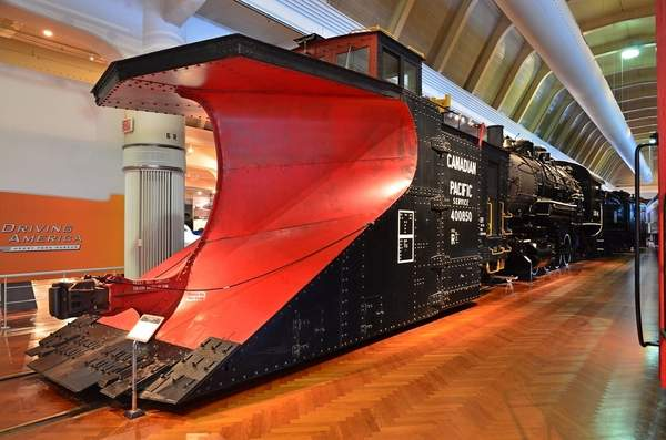 Railroad Snow Plow
