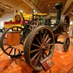 Henry Ford Museum in Dearborn, Michigan (Color)
