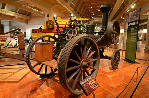 Henry Ford Museum in Dearborn, Michigan (Color) by...