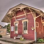 Southeast Michigan Railroad Depots in HDR