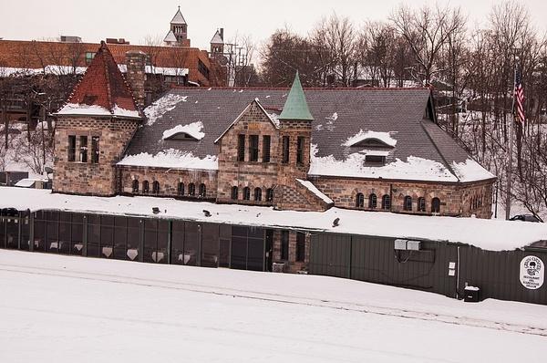 Ann Arbor & Ypsilanti RR Winter Shots by SDNowakowski