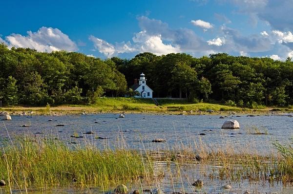 Old Mission Peninsula Lighthouse by SDNowakowski