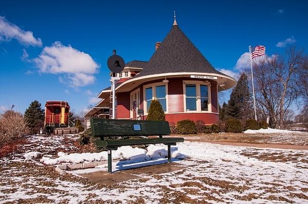 South Lyon, Michigan Railroad Depot by SDNowakowski