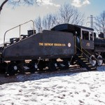 Detroit Edison #203 Steam Locomotive