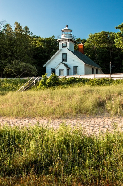 Old Mission Point Lighthouse (Lake Michigan) by...