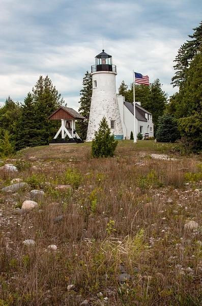 Old Presque Isle Lighthouse (Lake Huron) by SDNowakowski