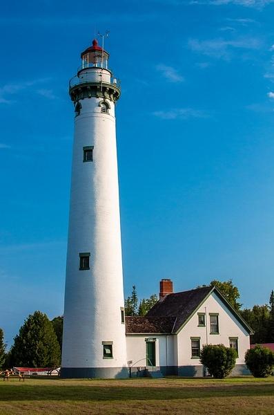 New Presque Isle Lighthouse (Lake Huron) by SDNowakowski