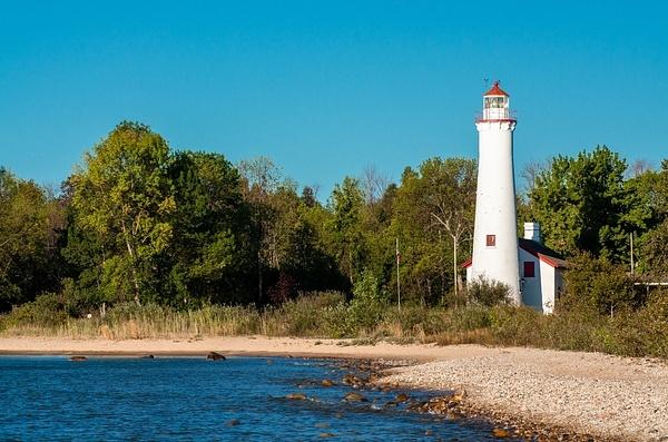 Sturgeon Point Lighthouse (Lake Huron) by SDNowakowski