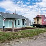 Malinta Railroad Depot - Malinta, Ohio