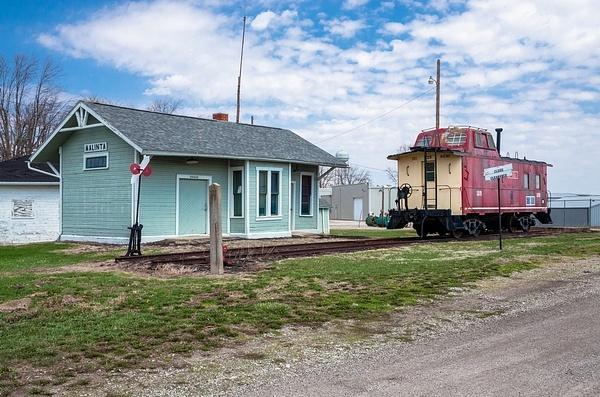 Malinta Railroad Depot - Malinta, Ohio by SDNowakowski
