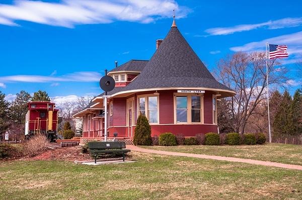 South Lyon Railroad Depot - South Lyon, Michigan -2 by...