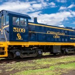 Toledo Lake Erie & Western #5109 Locomotive in Fresh Paint