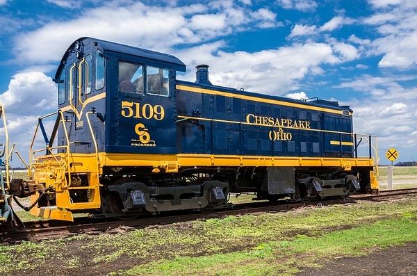 Toledo Lake Erie & Western #5109 Locomotive in Fresh...