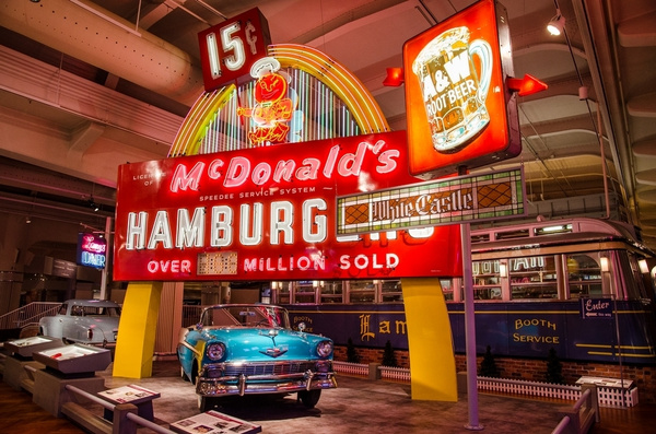 Henry Ford Museum Auto Display April 2014 by SDNowakowski