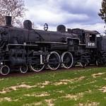 GTW #5039 Steam Locomotive on Display in Jackson, MI.