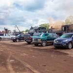 Steam Railroading Institute (set up Day) for Big Steam Show June 20-22, 2014