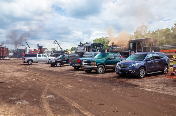 Steam Railroading Institute (set up Day) for Big Steam...