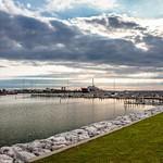 US Coast Guard Ships in Mackinaw City & Sheyboygan, MI.