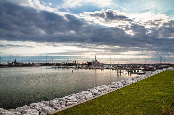 US Coast Guard Ships in Mackinaw City & Sheyboygan, MI....