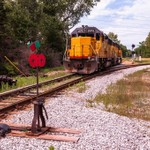 Ann Arbor Railroad Diesel Locomotives @ Saline Diamond