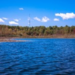 Kayak trip from Duck Lake to Mud Lake in Interlochen, Michigan