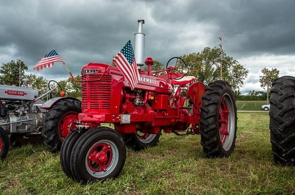Old 'Farmall' Farm Tractor by SDNowakowski