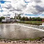 Dundee Dam & Mill Sept. 2014