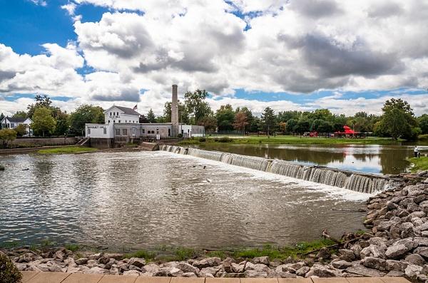 Dundee Dam & Mill Sept. 2014 by SDNowakowski