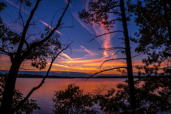 Sunrise & Sunset @ Interlochen State Park by SDNowakowski