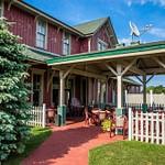GR&I Railroad Station in Mackinaw City, MI.