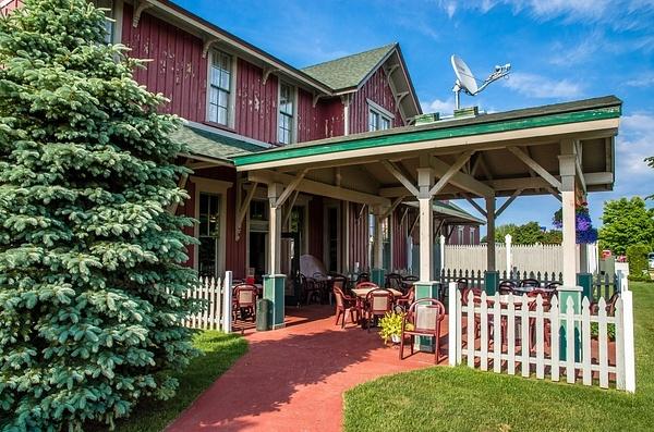GR&I Railroad Station in Mackinaw City, MI. by...