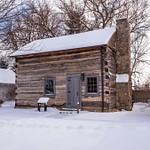 Snow Covered Sylvania Historical Village Jan. 2014