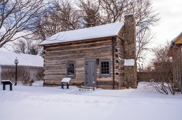 Snow Covered Sylvania Historical Village Jan. 2014 by...