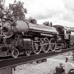 2014 Steam Railroading Inst. Summer Show in B&W