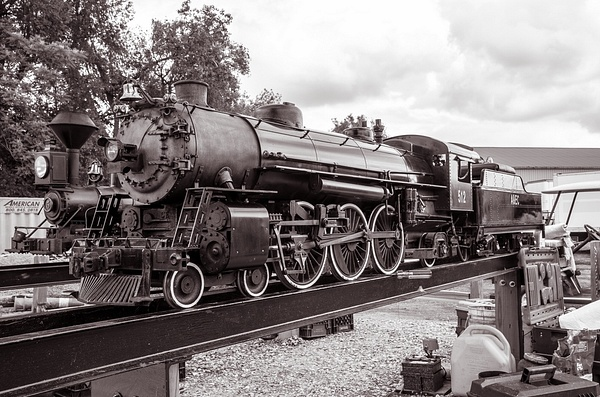 2014 Steam Railroading Inst. Summer Show in B&W by...
