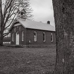 Dec. 2014 B&W pictures of an Old Whiteford Township Schoolhouse